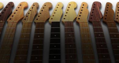tutorial sobre maderas para guitarras