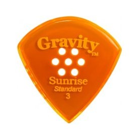 Púa Gravity Picks Sunrise Standard Multi Hole 2mm.