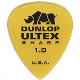 Dunlop Ultex Sharp 1.00mm. Picks