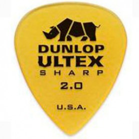 Dunlop Ultex Sharp 2.00mm. Picks