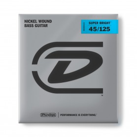Cuerdas-Bajo-Dunlop-Super-Bright 45-125 5 Strings