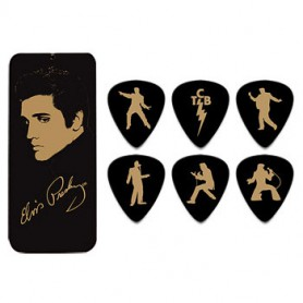 Pack de púes Dunlop Elvis Portrait Collection