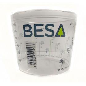 Measuring beaker 600 ml.