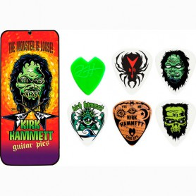 Púes Dunlop Kirk Hammett Monster Loose Signature