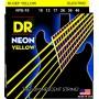 Cuerdas Eléctrica DR Strings Neon 10-46 Yellow