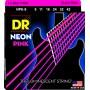Cuerdas Eléctrica DR Strings Neon 09-42 Pink