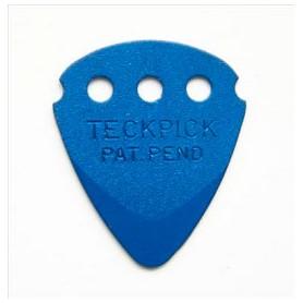 Púes Dunlop Teckpick Anodized Aluminum Blue