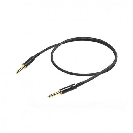 Cable de Instrumento Proel Challenge Stereo CHL140LU5 5 M.