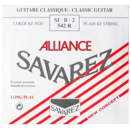 Cuerda Suelta Clásica Savarez Alliance 542R 2ª Tensión Normal