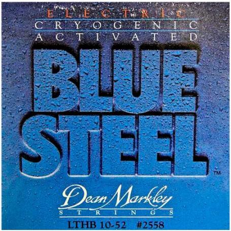 Cuerdas Eléctrica Dean Markley Blue Steel 10-52 LTHB