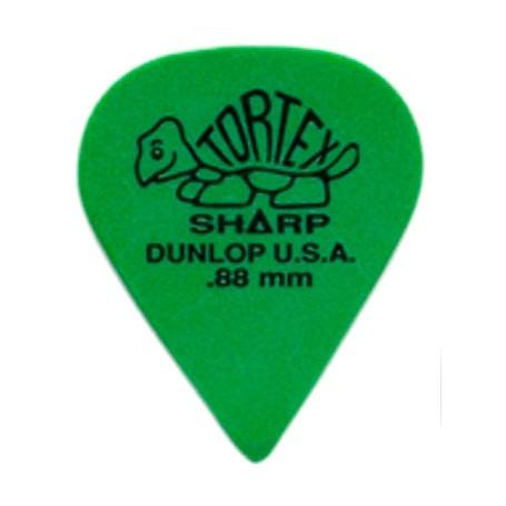 Púas Dunlop Tortex Sharp 0.88mm.