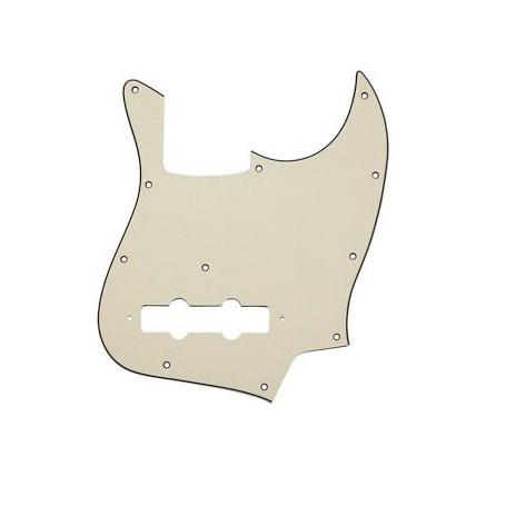 Golpeador para Bajo Tipo Jazz Bass Blanco 3 Capas