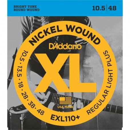 Cuerdas Eléctrica D´Addario EXL110+ 10.5-48