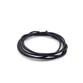 Black Vintage Cloth Wire