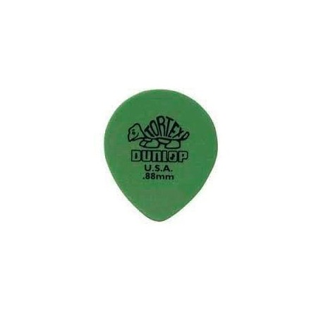 Dunlop Tortex Teardrop 0.88mm. Picks