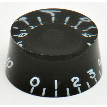 Botón de Potenciómetro Goldo Speed Negro