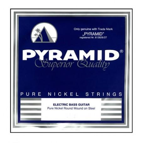 Cuerdas Bajo Pyramid Pure Nickel Round Wound 45-105