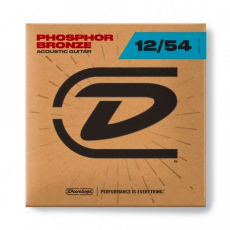 Cuerdas Acústica Dunlop Phosphor Bronze 12-54