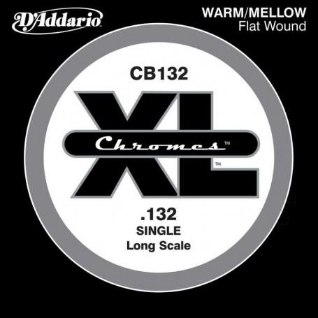 D'Addario CB132 Bass Chromes Flatwound