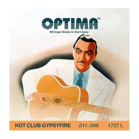 Cuerdas de Guitarra Gypsy Optima Hot Club Gypsyfire 11-46