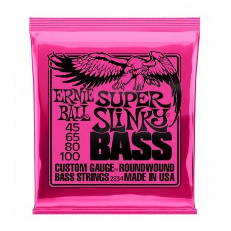 Cuerdas Bajo Ernie Ball 2834 Super Slinky 45-100