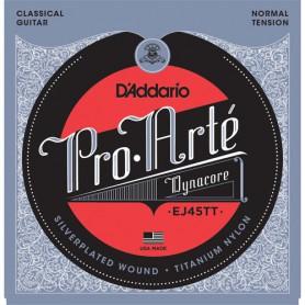 Cuerdas Clásica D´Addario ProArte Dynacore EJ45TT Titanium Trebles