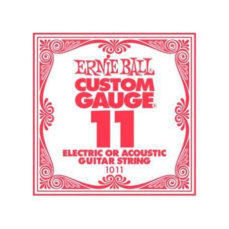 Ernie Ball 011 Single Plain Electric/Acoustic Guitar String