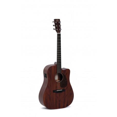 Guitarra Acústica Sigma DMC-15E+ Natural