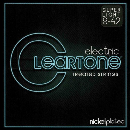 Cuerdas Eléctrica Cleartone Nickel Plated 09-42 Super Light