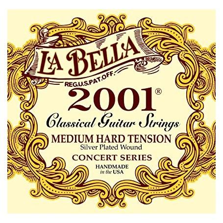 La Bella 2001 Concert Series Medium Hard Tension Classical Guitar Strings