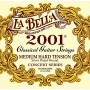 Cuerdas de Guitarra Clásica La Bella 2001 Concert Series Medium Hard Tension