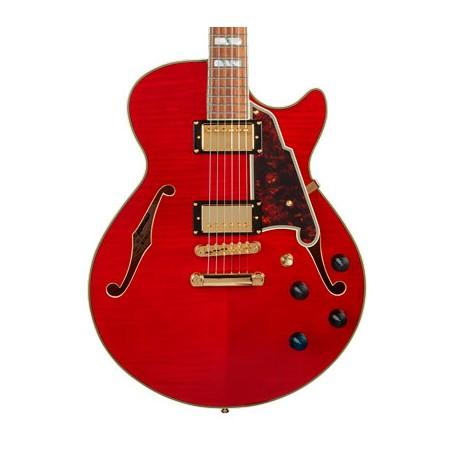 Guitarra Eléctrica D'Angelico Excel SS Cherry
