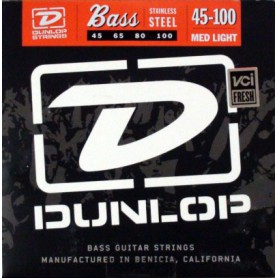 Dunlop Stainless Steel Bass Strings 45-100