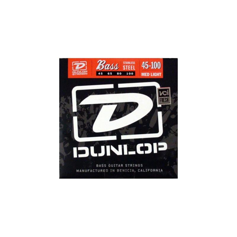 Cuerdas Bajo Dunlop Stainless Steel 45-100-100