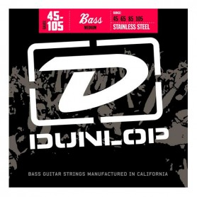Dunlop Stainless Steel Bass Strings 45-105