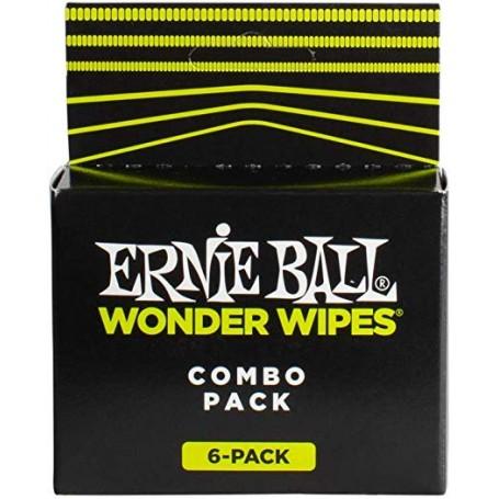 Ernie Ball Wonder Wipes Combo Pack