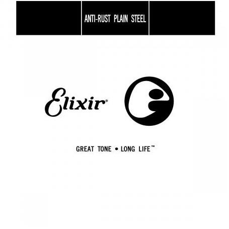 Elixir Nanoweb Electric Plain Single String 010