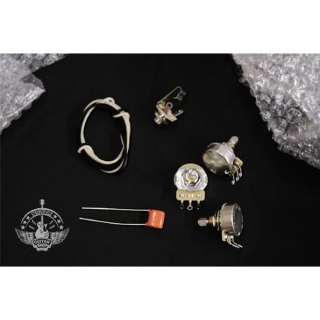 Electronics Upgrade Kits for Fender® Jazzbass®