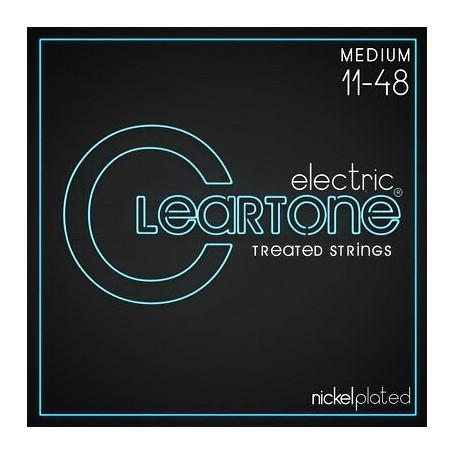 Cleartone Nickel Plated 11-48 Medium Electric Strings