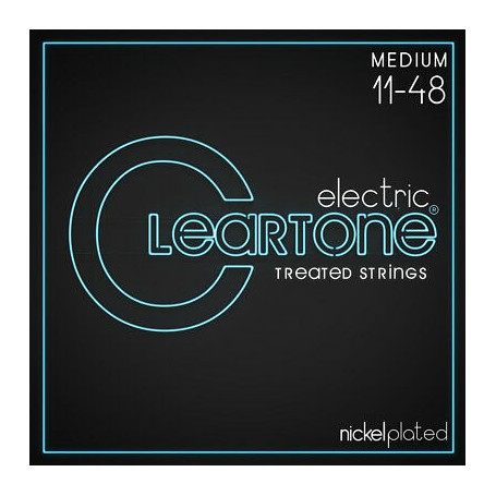 Cuerdas Eléctrica Cleartone Nickel Plated 11-48 Medium