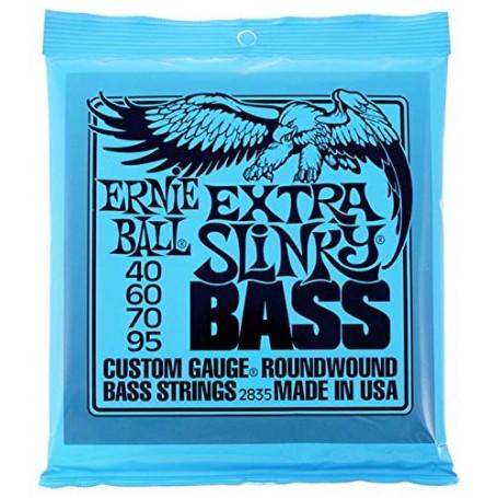 Cuerdas Bajo Ernie Ball 2835 Extra Slinky 40-95