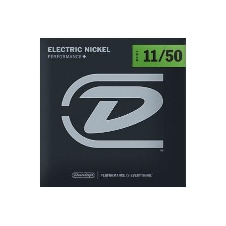 Cuerdas Eléctrica Dunlop Nickel Plated Steel 11-50