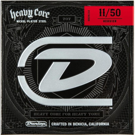 Dunlop Heavy Core Electric Strings 11-50