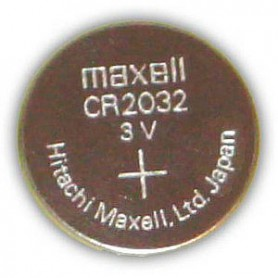 Pila Botón Maxell CR2032 Lithium Battery 3V