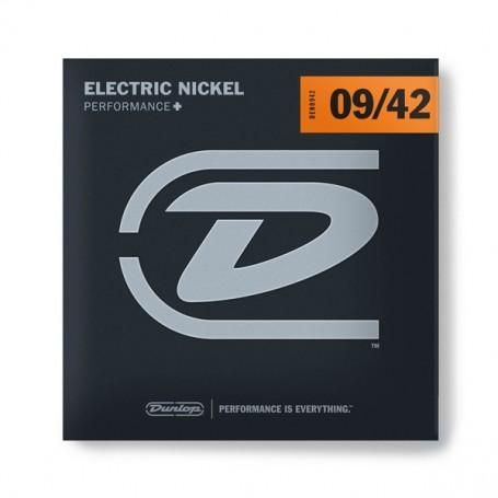 Cuerdas Eléctrica Dunlop Nickel Plated Steel 09-42
