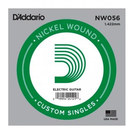 Cuerda suelta D´Addario NW056 entorchada para eléctrica