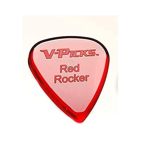 Púa V-Picks Red Rocker