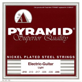 Cordes Elèctrica Pyramid Nickel plated Steel 10-46