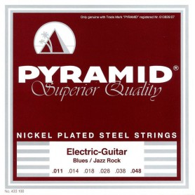 Cordes Elèctrica Pyramid Nickel plated Steel 11-48