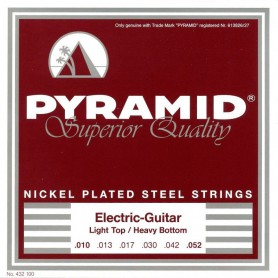Cuerdas Eléctrica Pyramid Nickel Plated Steel 10-52